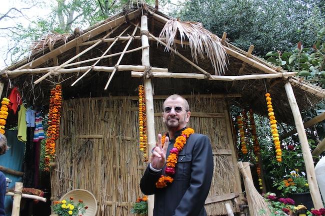Ringo Starr Chelsea Flowers Show 2013