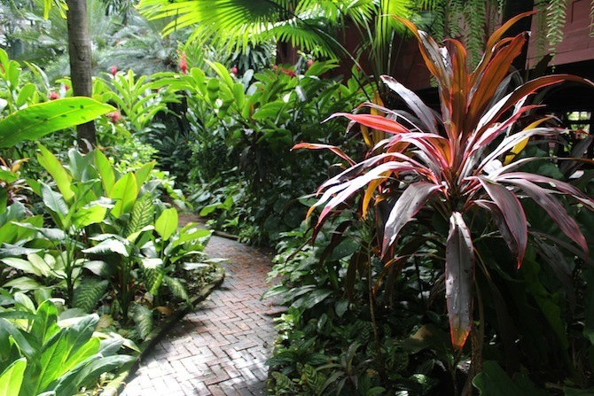 Garden Path - Jim Thompson House Bangkok
