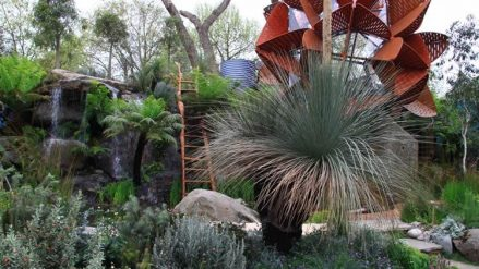 Have you ever wondered how a Chelsea Flower Show garden comes to life?